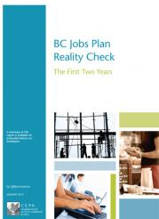 CCPA jobs plan report cover
