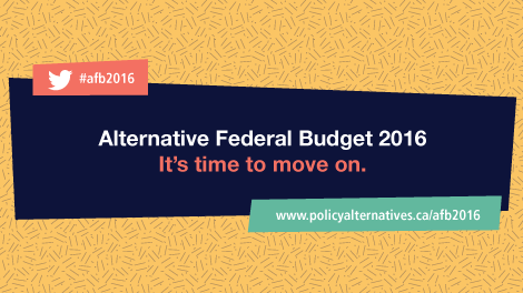Cover of the Alternative Federal Budget 2016